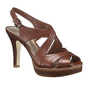 NIB Antonio Melani Layla Platform Sandals Size 8